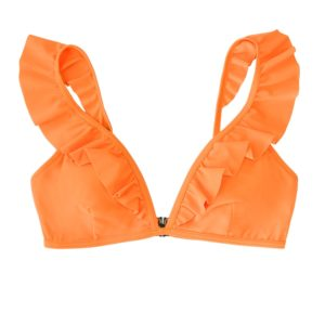 Bikini top Solid Neon Orange 6